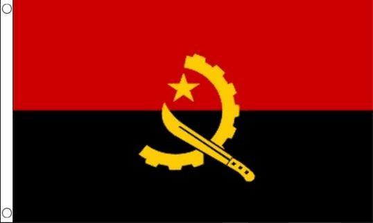 Angolese vlag Angola vlaggen 90x150cm Best Value