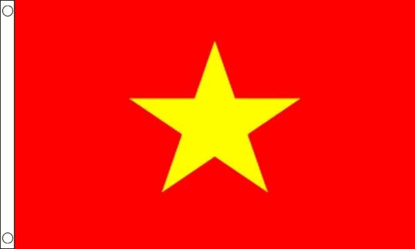 Vlag Vietnam 60x90cm
