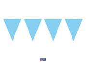 Vlaggenlijn Blauw, lichtblauw 10m