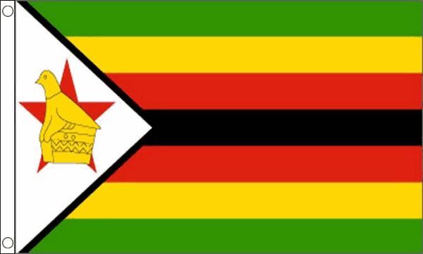 Vlag Zimbabwe 60x90cm