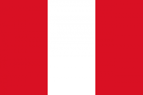 Vlag Peru 100x150cm Glanspoly