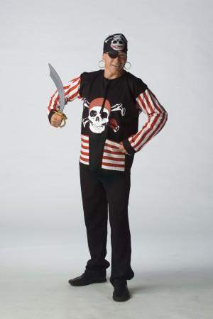 Piraten kiel kleding voor volwassenen