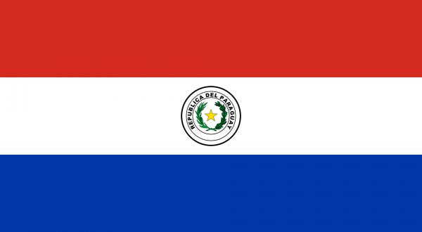 Vlag Paraguay 100x150cm Glanspoly