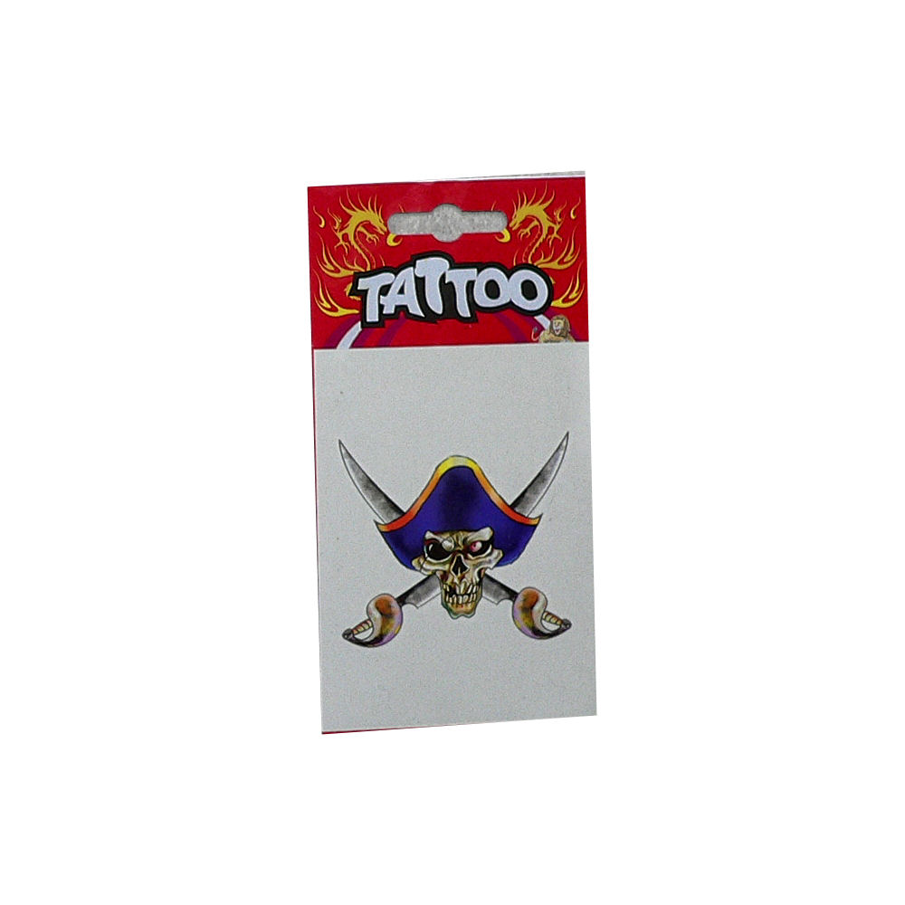Tattoo Pirate Blue Hat