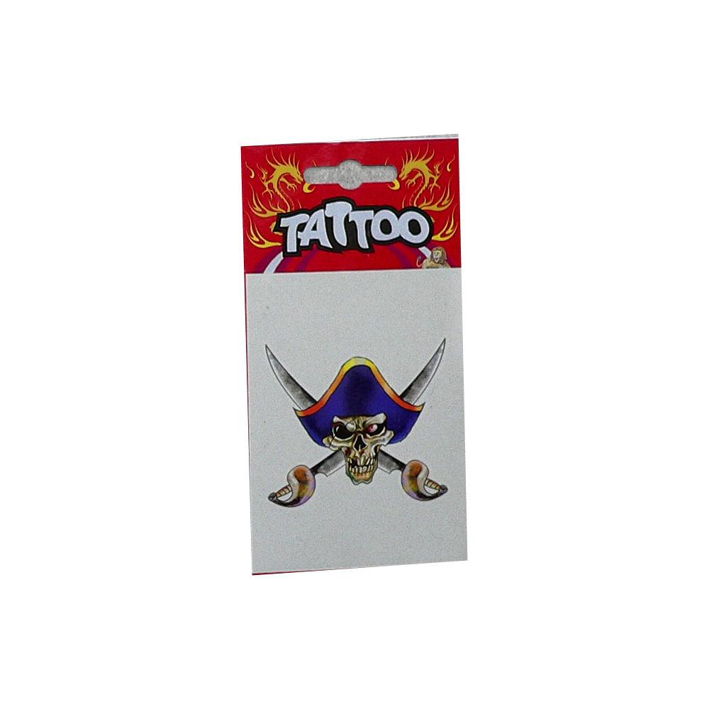 Tattoo Pirate Blue Hat
