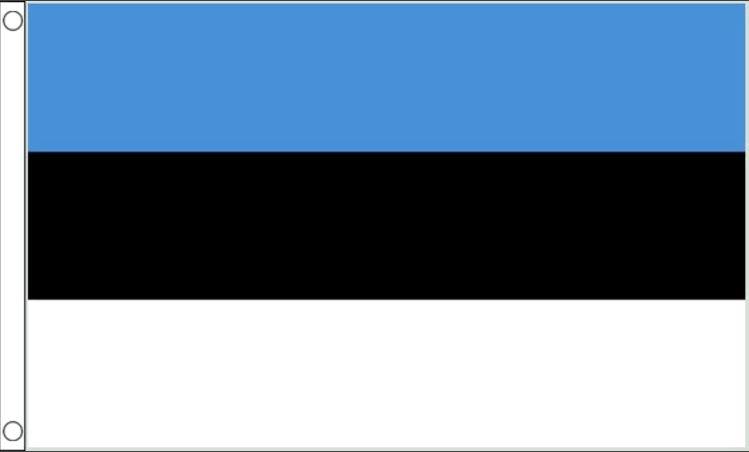 Estlandse vlag | vlaggen Estland 90x150cm Best Value