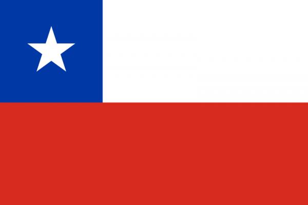 Tafelvlag Chili met standaard