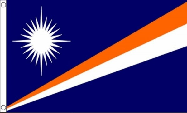 Vlag Marshalleilanden 60x90cm | Best value