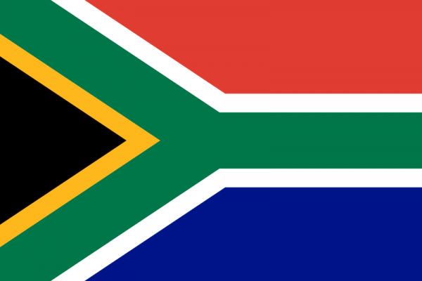 Vlag Zuid-Afrika 100x150cm Glanspoly