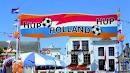 Hup Holland oranje straatbanner spandoek EK | WK