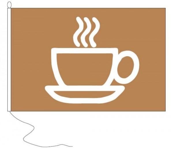 Borrelvlag Koffie 30x45cm De leukste vlag voor Koffietijd