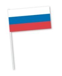 Russische zwaaivlaggen, Rusland, Rus, Zwaaivlaggetjes