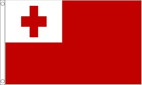 Vlag Tonga 60x90cm