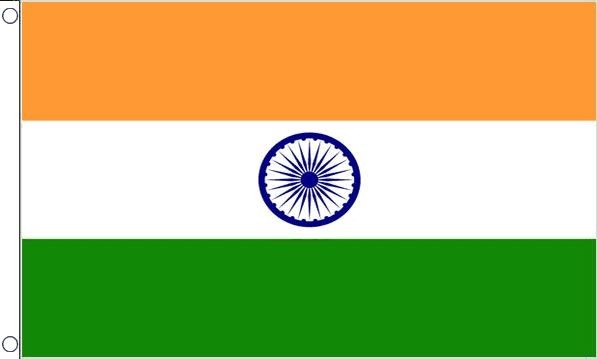 vlag India 90x150cm Best Value Indiase vlaggen kopen
