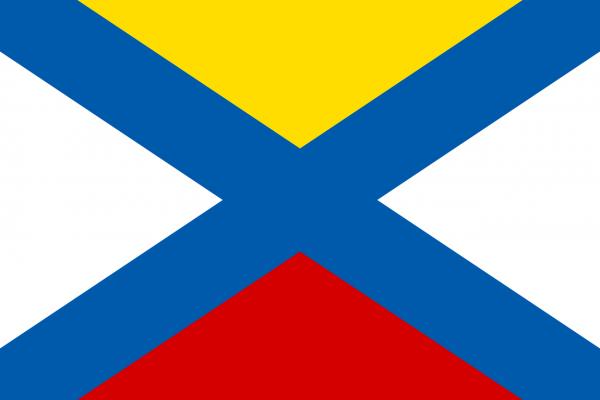 Grote vlag Katwijk