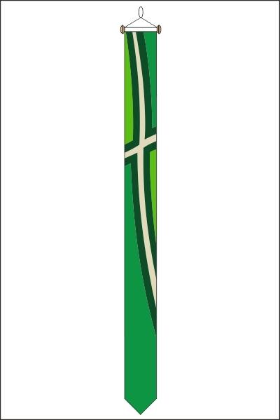 Wimpel Achterhoek recht 25x300cm met stokje