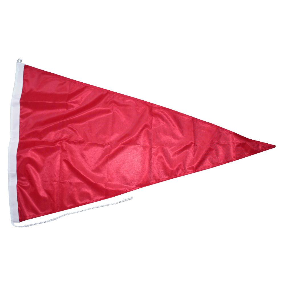 Rode wimpel bpr 3.17 70x100cm puntvlag rood