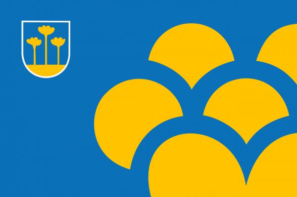 Grote vlag Zoetermeer