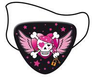 Pirate Girl ooglapjes 8 stuks Vlaggenclub