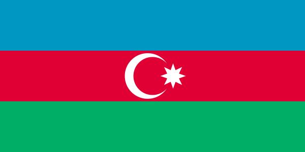 Vlag Azerbeidzjan | Azerbeidzjaanse vlaggen 90x150cm