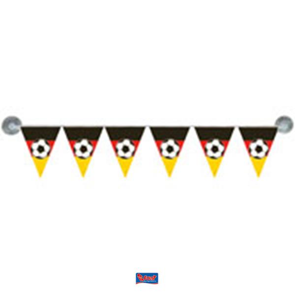 Mini vlaggenlijn Duitsland | Duitse autovlaggenlijn EK WK achterruit
