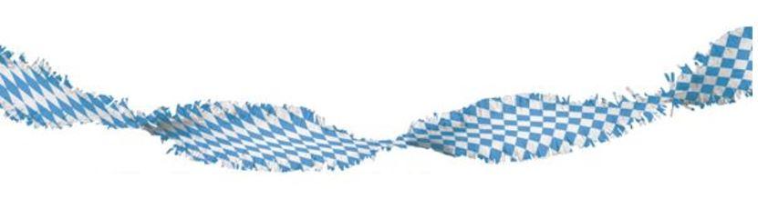 Draaiguirlande Oktoberfest 6m brandvertragend