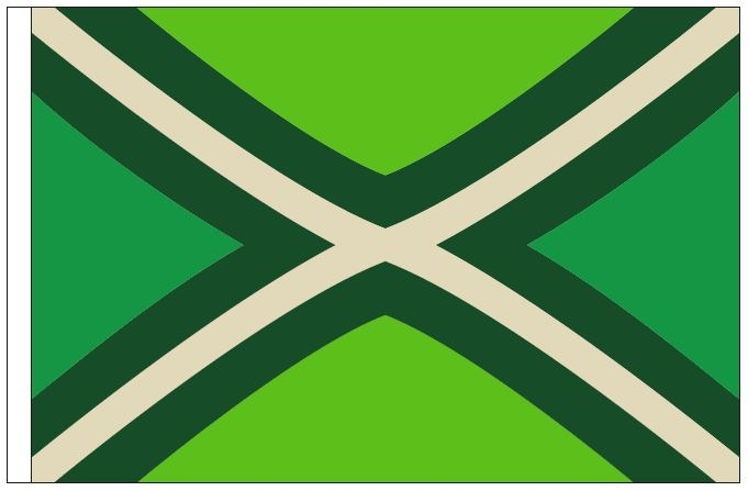 Vlag Achterhoek 50x75cm Achterhoekse bootvlag