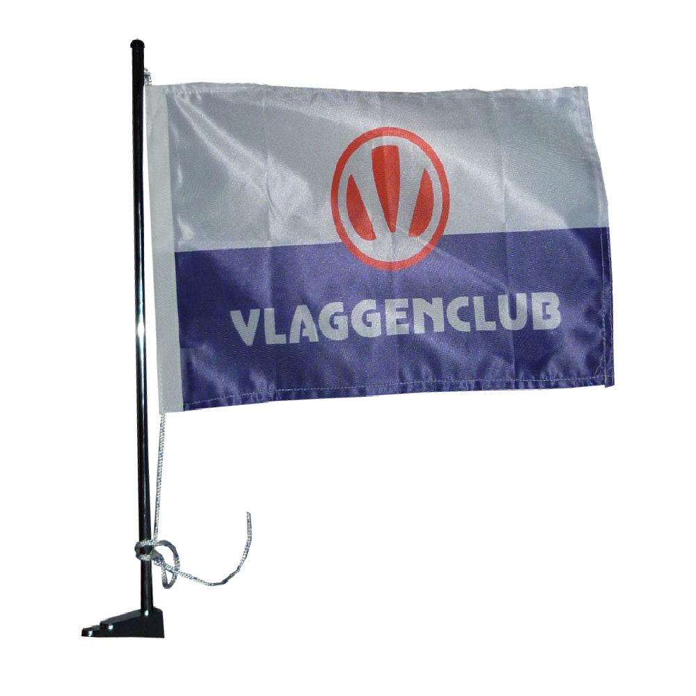 Vlaggenstok met dekbasis