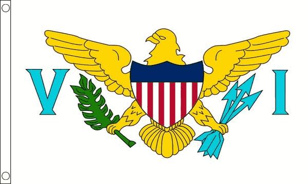 Vlag Amerikaanse Maagdeneilanden 90x150cm | Best Value