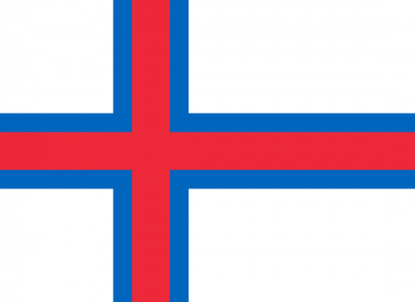 Vlag Faeröer eilanden | Faeröerse vlaggen 100x150cm