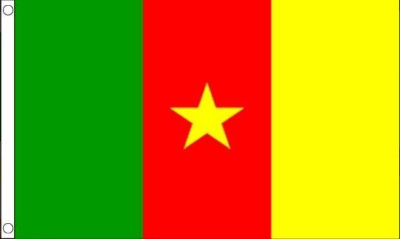 vlag Kameroen, Kameroenese vlaggen 60x90cm Best Value