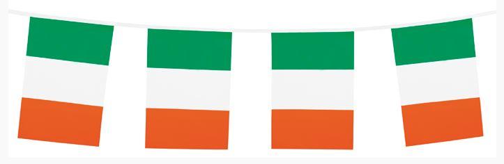 vlaggenlijn Ierland, Ierse vlaggenlijn rechthoekig 10m