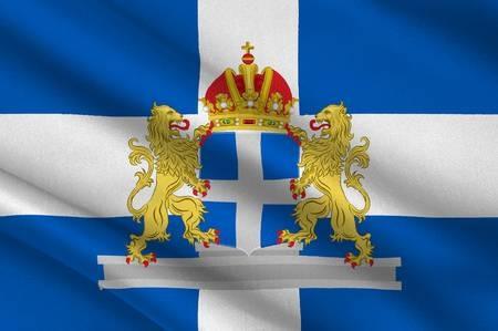 Zwolle met wapen vlag 20x30cm