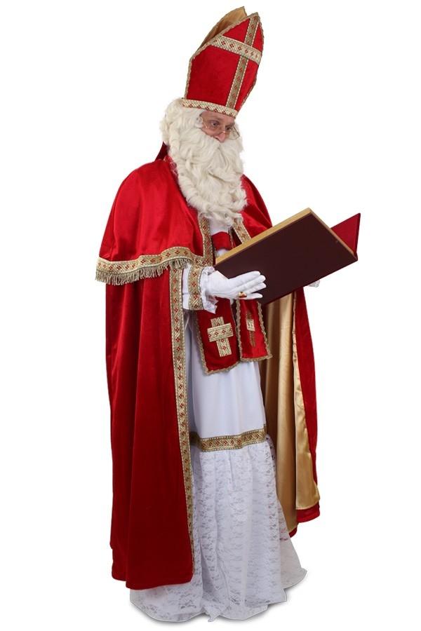 Sinterklaas pak luxe kostuum mijter en stola