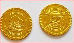 144 stuks gouden munten goustukken gouden schat kopen