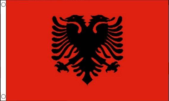 vlag Albanië | Albanische vlaggen 90x150cm Best Value