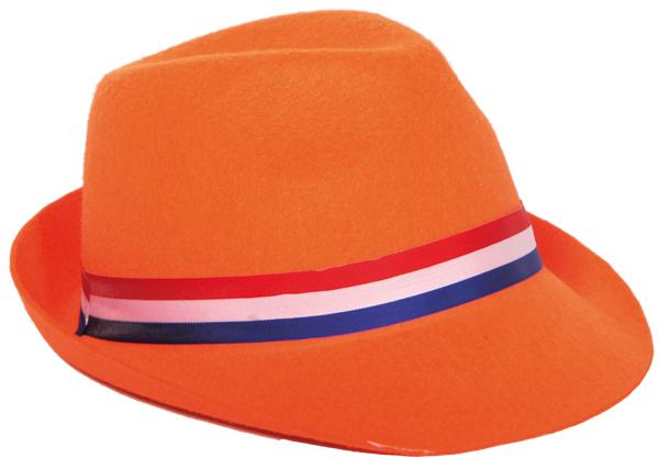Oranje hoed Tribly koninginnedag