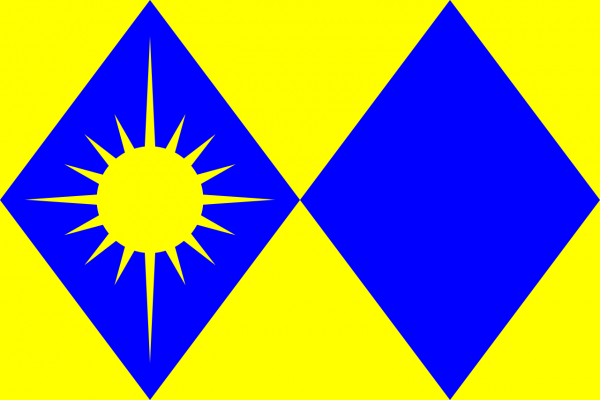 Grote vlag Son en Breugel