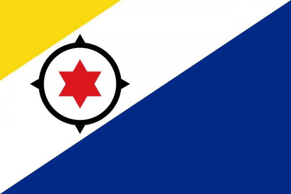 Tafelvlag Bonaire met standaard