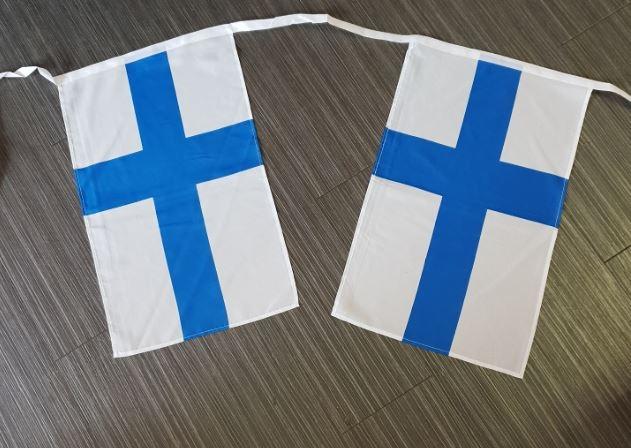 Vlaggenlijn Finland 10m XL