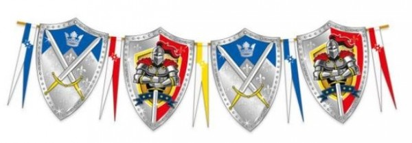 Vlaggenlijn ridders 6m