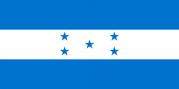 Tafelvlaggen Honduras 10x15cm | Hondurese tafelvlag