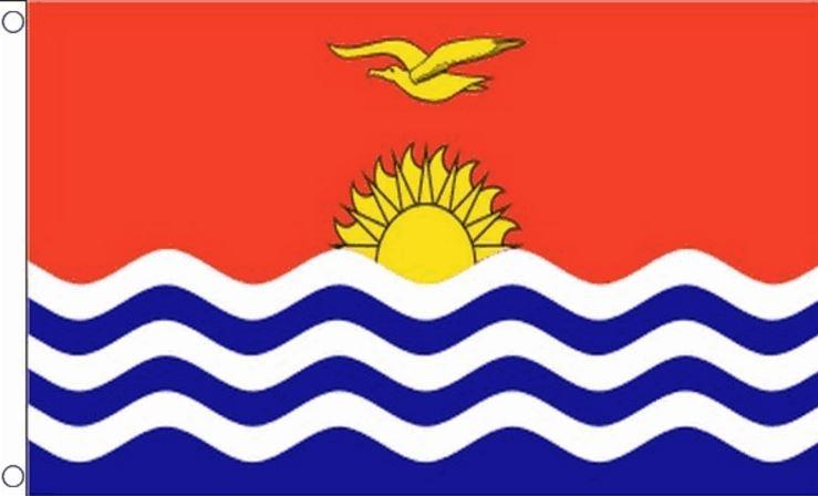 Vlag Kiribati Kiribatische vlaggen 90x150cm Best Value