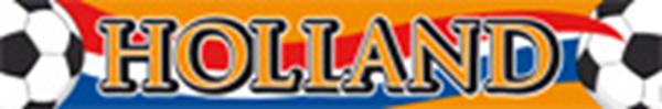 Holland oranje spandoek straatbanner  banier EK | WK