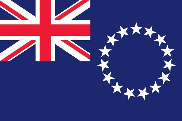 Vlag Cook Eilanden | Cook Eilandse vlaggen 20x30cm