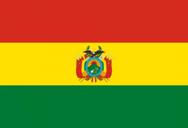 Tafelvlaggen Bolivia 10x15cm | Boliviaanse tafelvlag