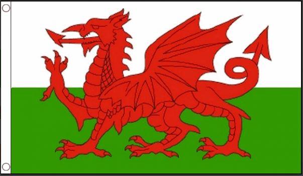 vlag Wales, Welsh, Welshe vlag 90x150cm Best Value