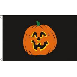 Pompoen En Halloween.Vlag Pompoen Sint Maarten En Halloween 90x150cm