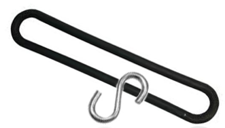 TIR spanrubber elastiek 250mm