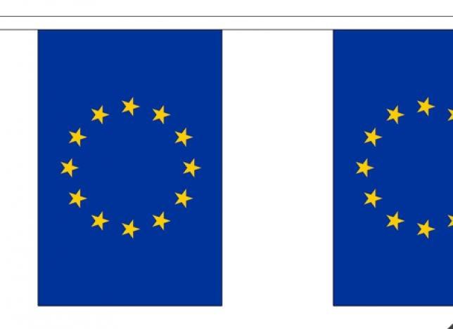 Vlaggenlijn Europese Unie 9m